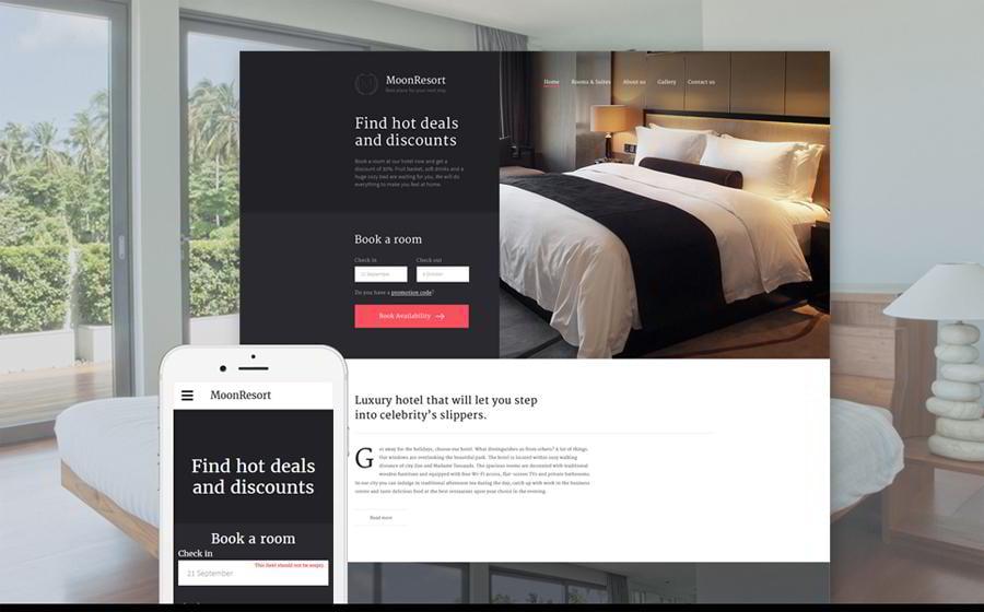moonresort-website-template