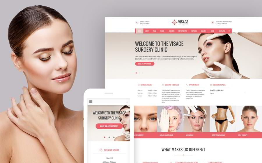 visage-plastic-surgery-clinic-bootstrap-web-page-template