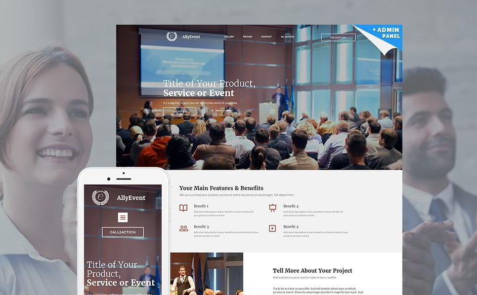 create-a-landing-page-allyevent
