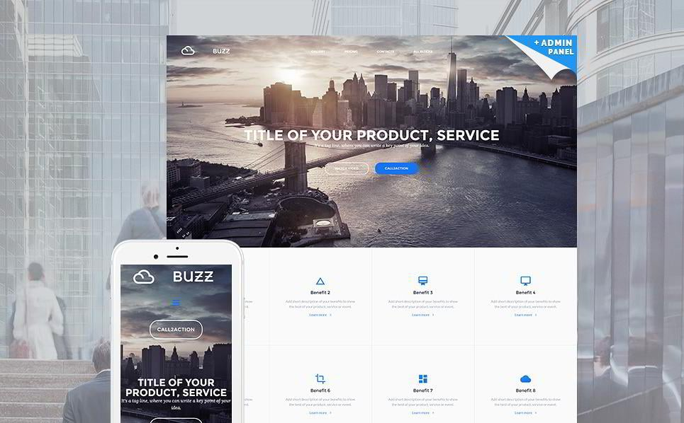 create-a-landing-page-buzz