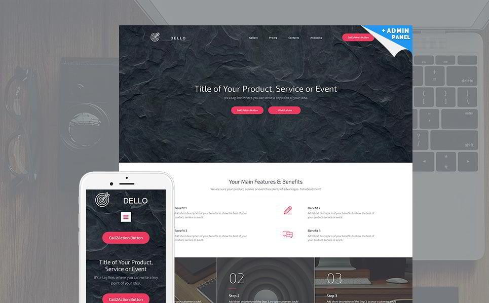create-a-landing-page-dello