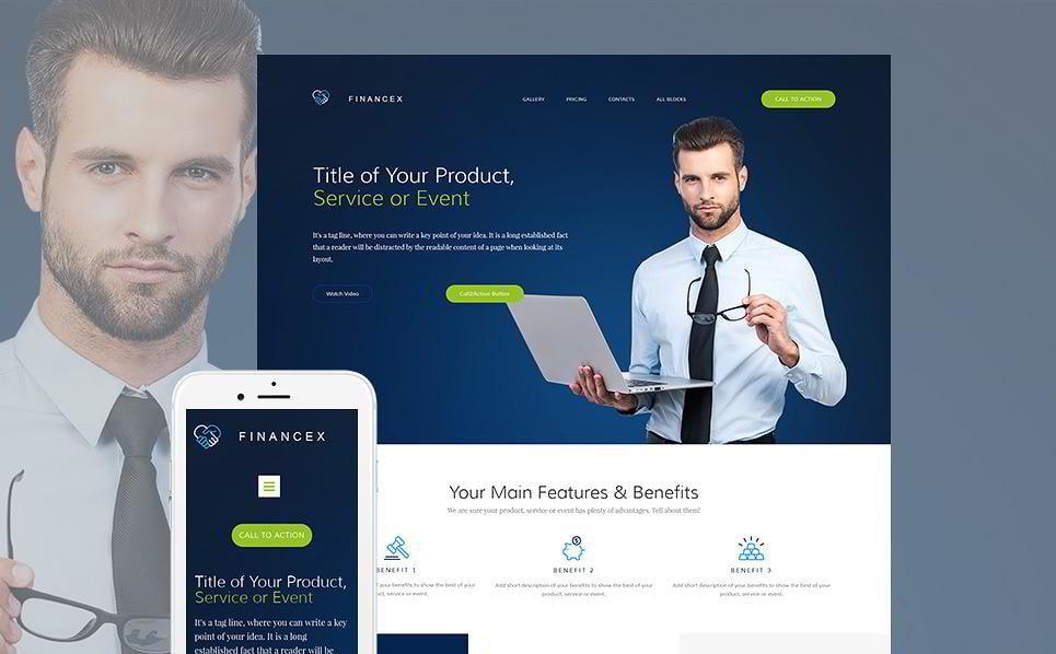create-a-landing-page-financex