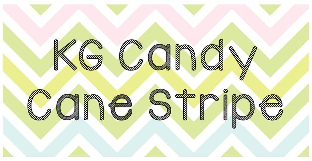 kg-candy-cane-stripe-font