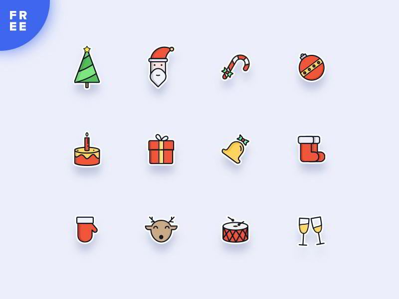 merry-christmas-dribbblers-by-george