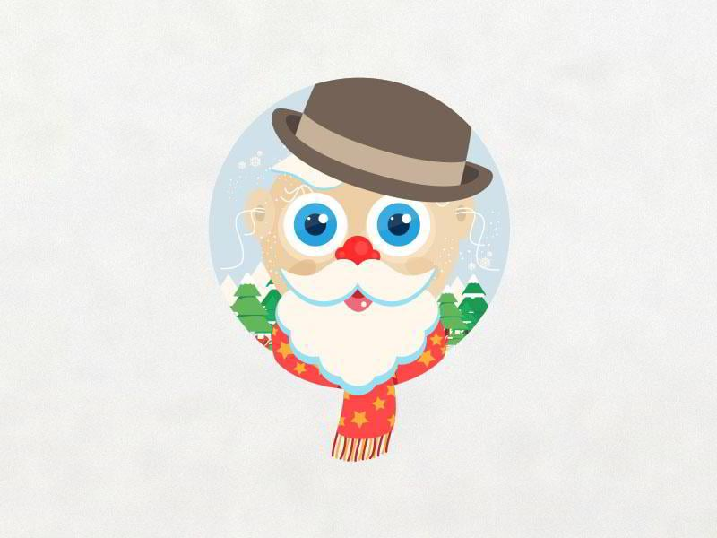 santa-claus-happy-holidays-by-shab-majeed