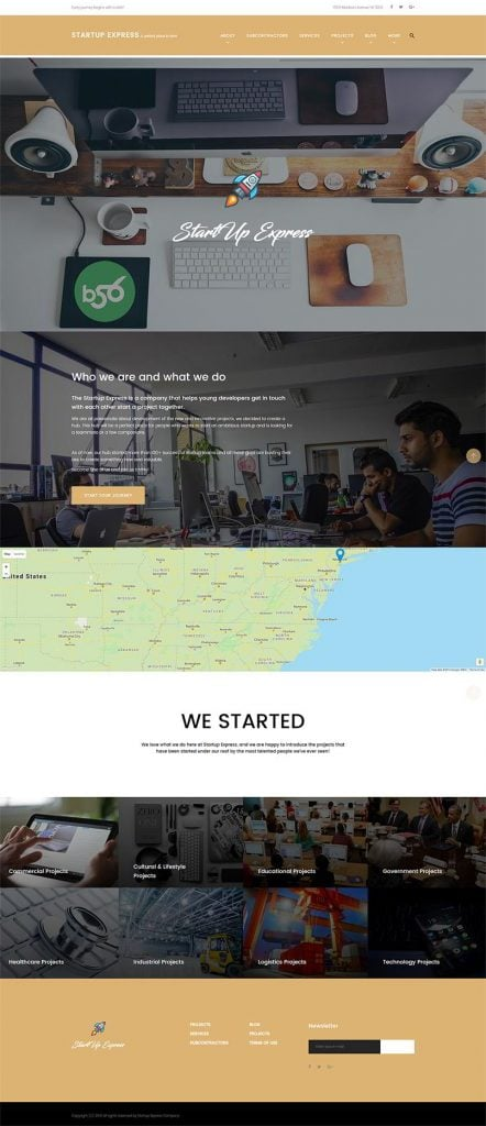 startup-express