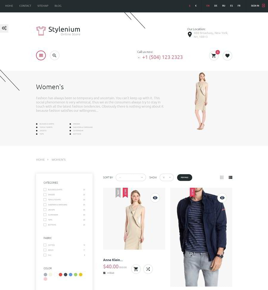 stylenium-category-page