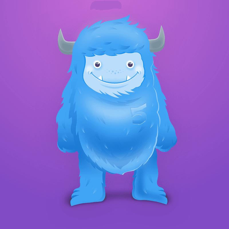Zilla TemplateMonster monster