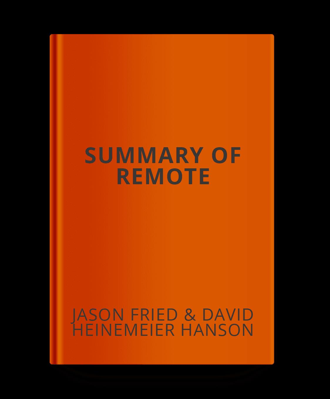summary-of-remote