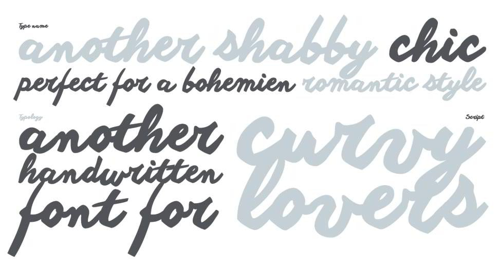 another-shabby-font-family