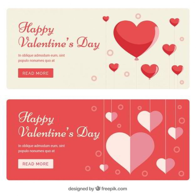banners-of-valentines-hearts-free-vector-by-freepik