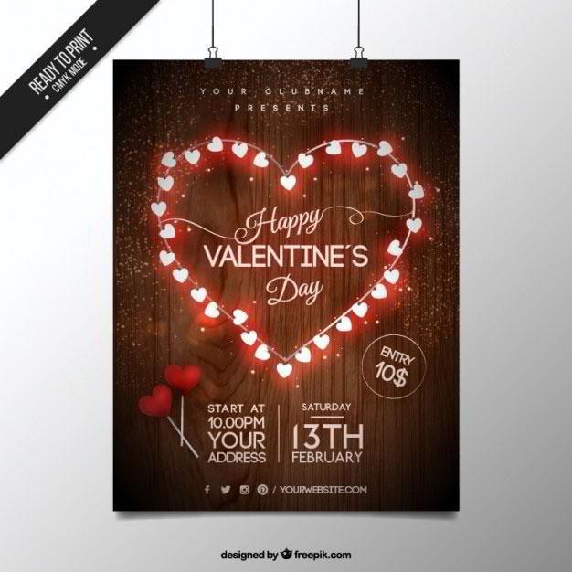 bright-heart-saint-valentine-poster-free-vector-by-freepik