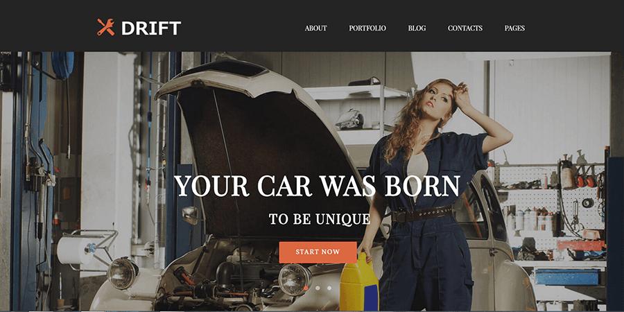 car-service-template