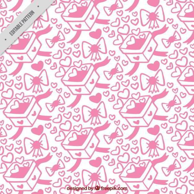 pattern-of-valentine-gift-boxes-free-vector-by-freepik