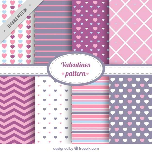 set-of-abstract-valentine-patterns-free-vector-by-freepik