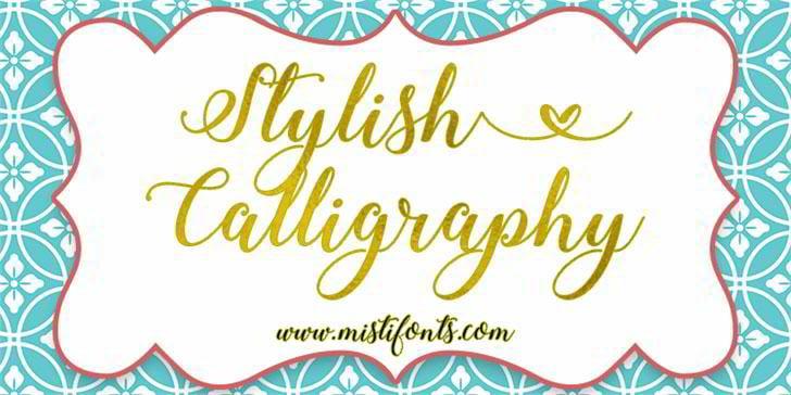 stylish-calligraphy-demo-font