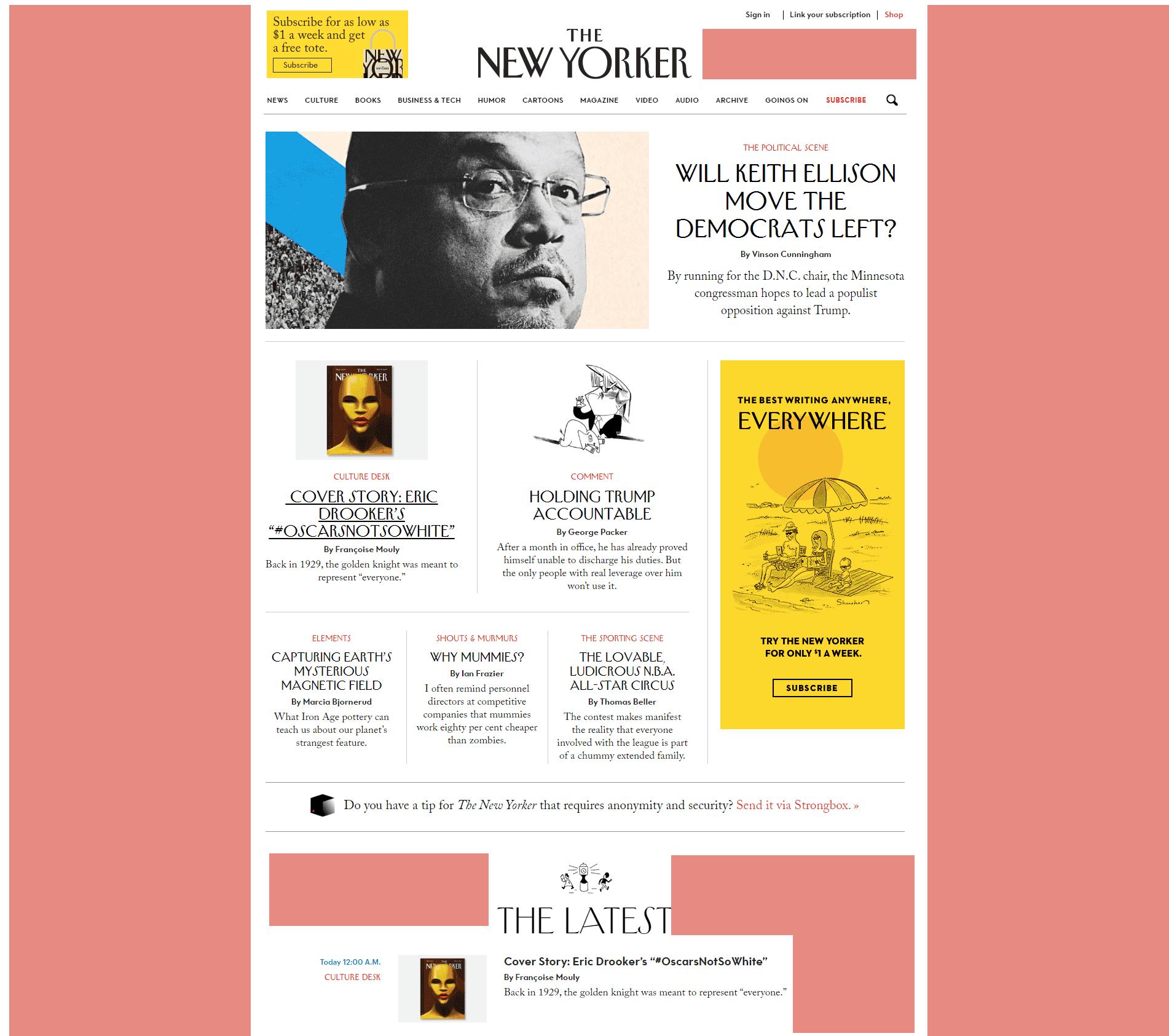 spazio bianco nel web design