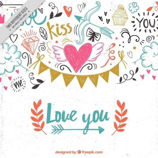 valentine-scribbles-background-free-vector-by-freepik