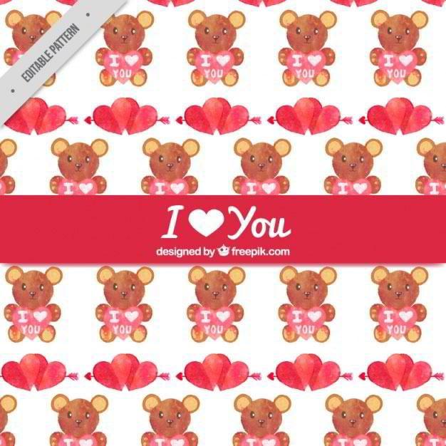 watercolor-bears-pattern-free-vector-by-freepik