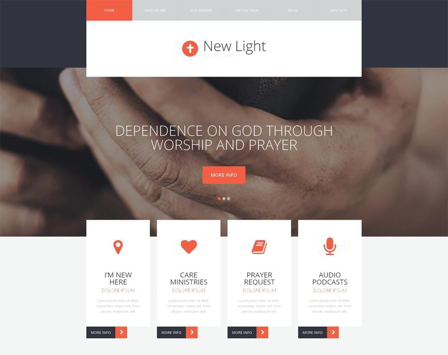 Enlightenment Faith WordPress Theme