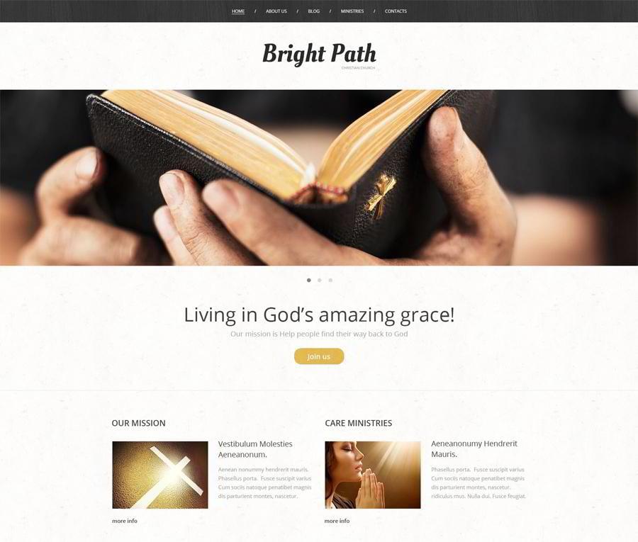 Church Web Presence WordPress Theme