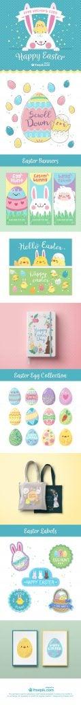 Omaggi di web design per Pasqua