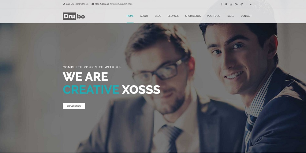 Drubo - Corporate WordPress Theme