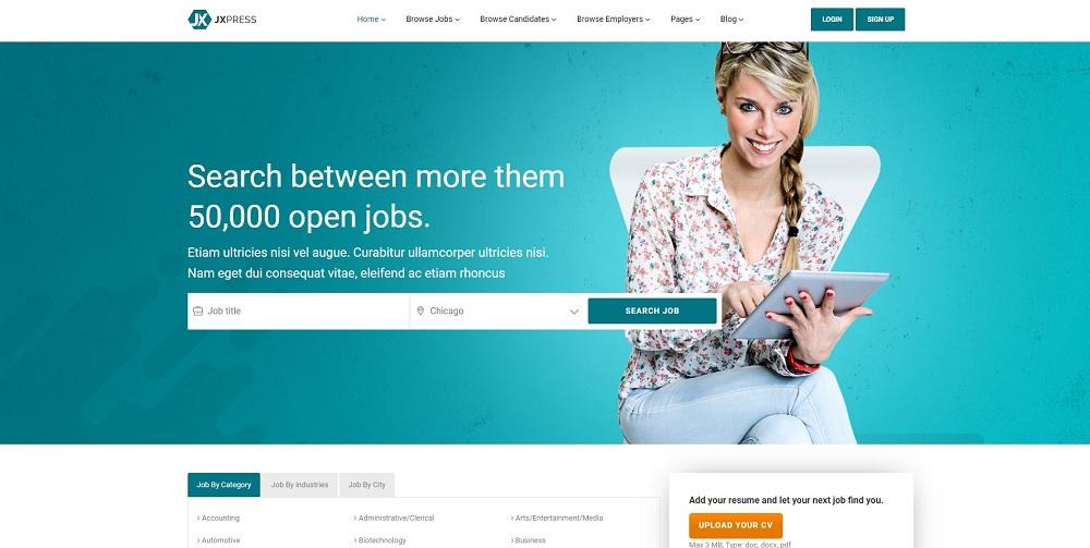 Jxpress - Job Board WordPress Theme