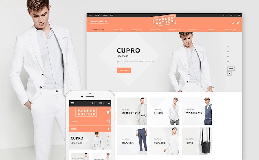 fashion designer prestashop templates