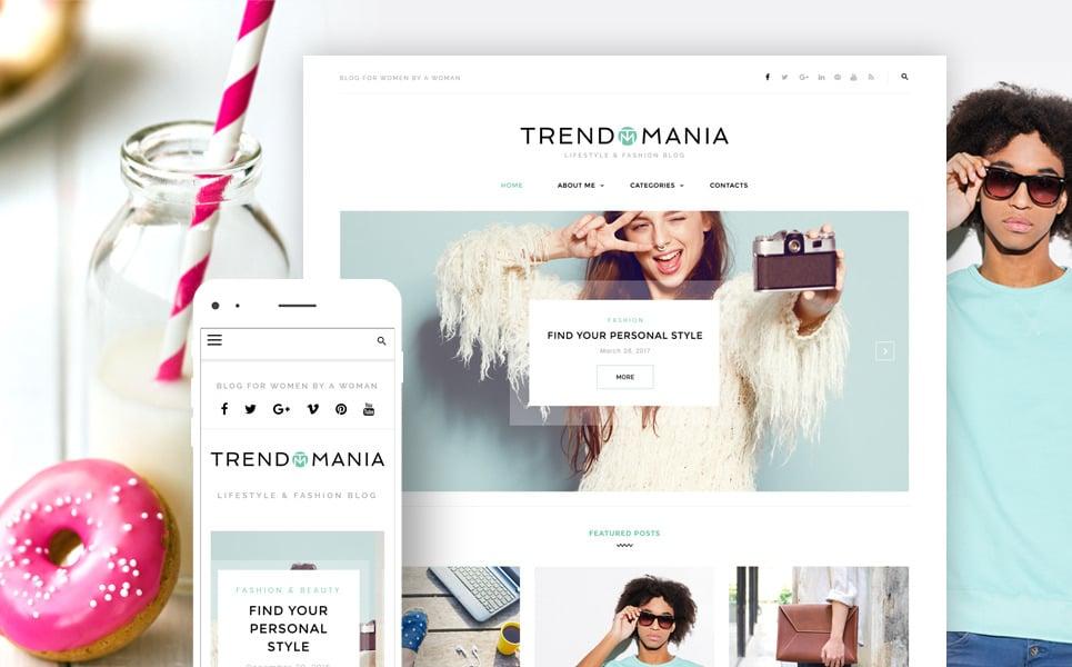 trendomania minimalist wordpress theme