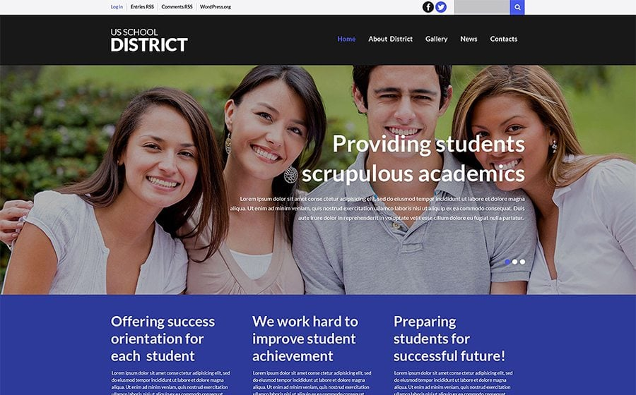 Schooling Learning WordPress Theme