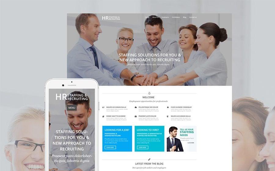 HR Recruiting WordPress Theme