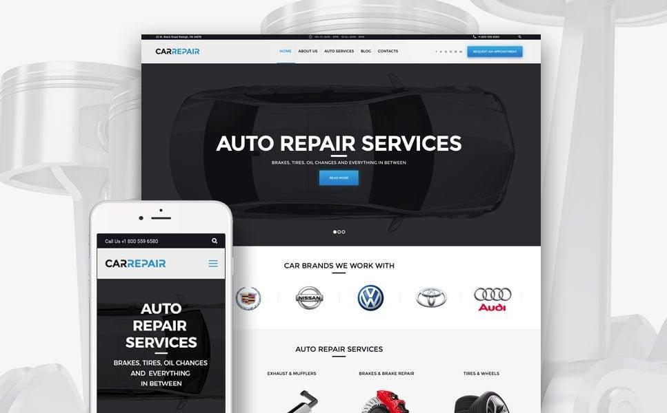 CarRepair - Auto Repair Services WordPress Theme