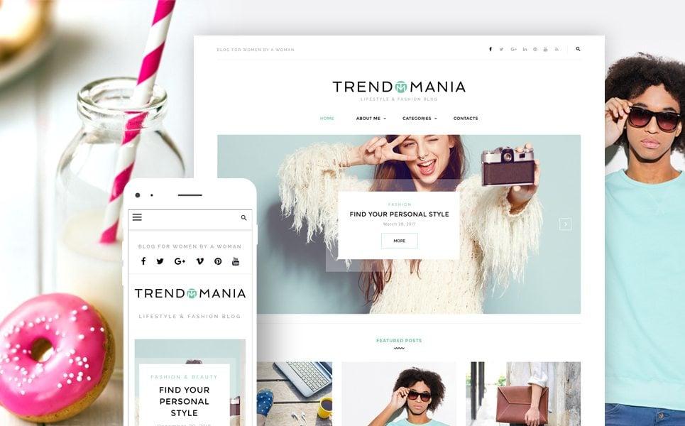 Web Design SoftwareWordPress StoreWordPress ThemesFashion & BeautyFashion TemplatesFashion Blog TemplatesTrendomania - Lifestyle & Fashion Blog WordPress Theme Trendomania - Lifestyle & Fashion Blog WordPress Theme