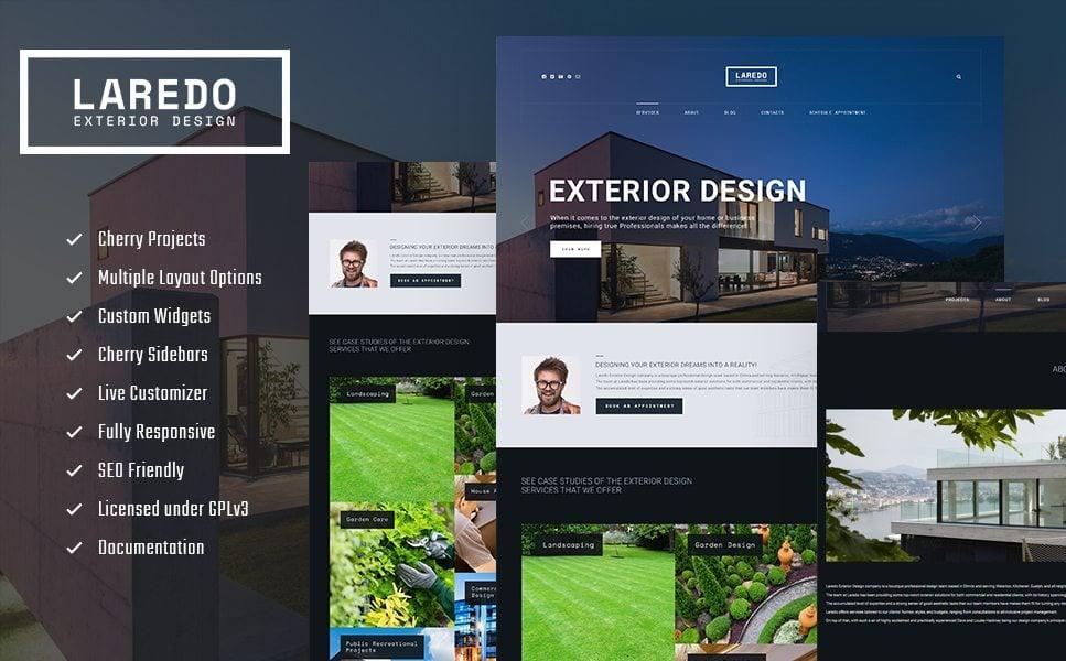 Laredo - Exterior Design Company WordPress Theme