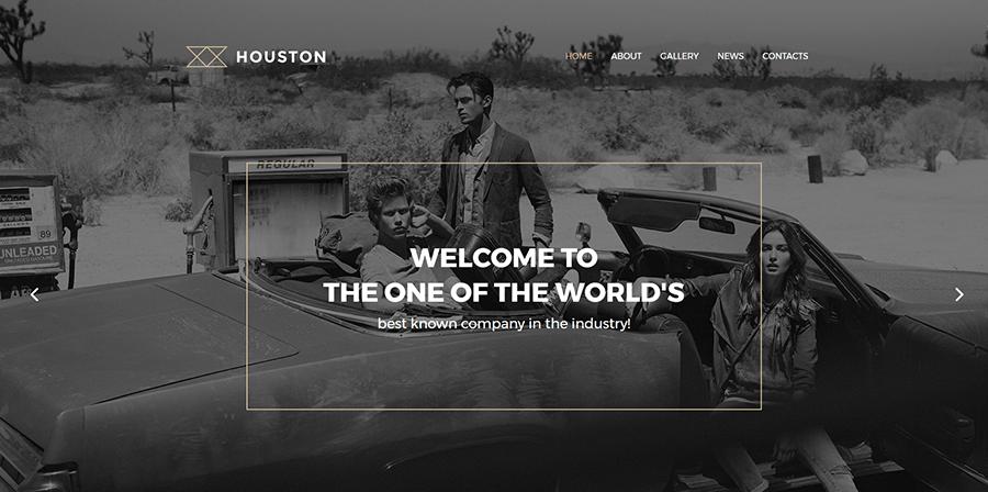 Houston Photo Gallery WordPress Theme