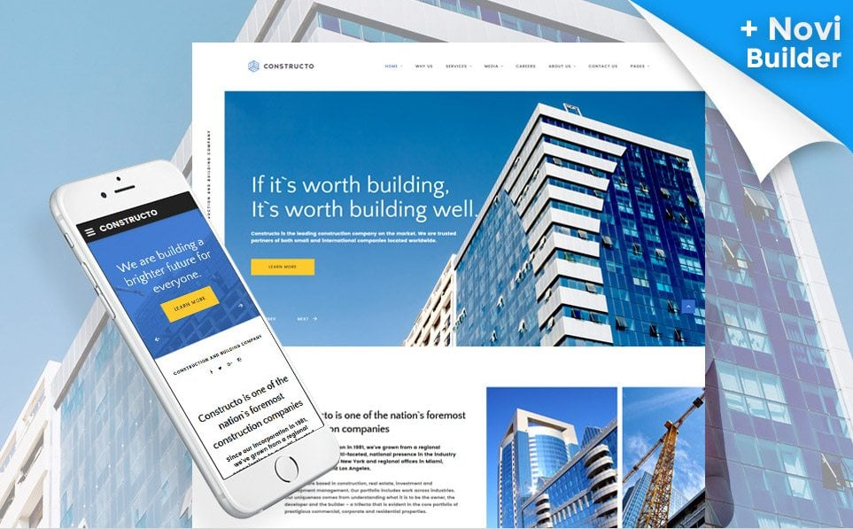 How to Build a Construction Company Website