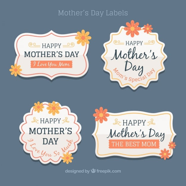 Mother's day web design freebies