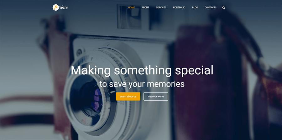 Stock Image Responsive WordPress Theme