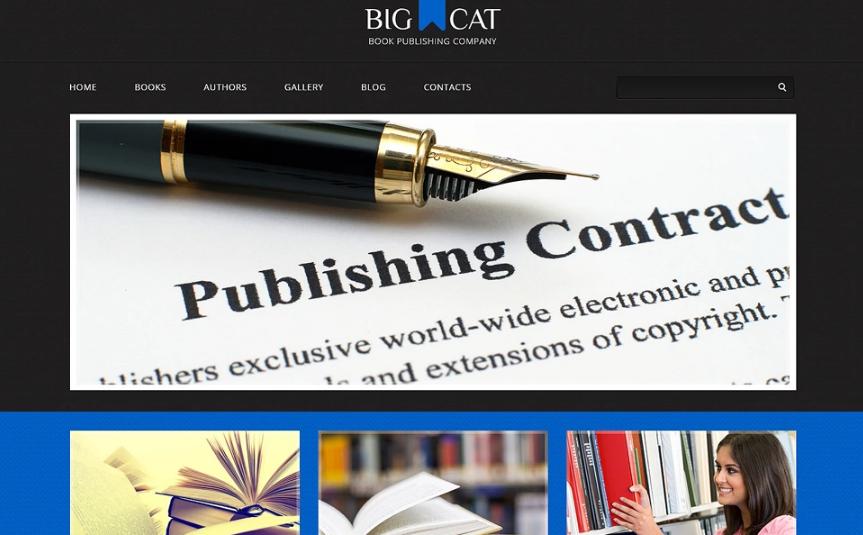 Publishing Company Responsive WordPress Theme(Conan Doyle-style Edition)