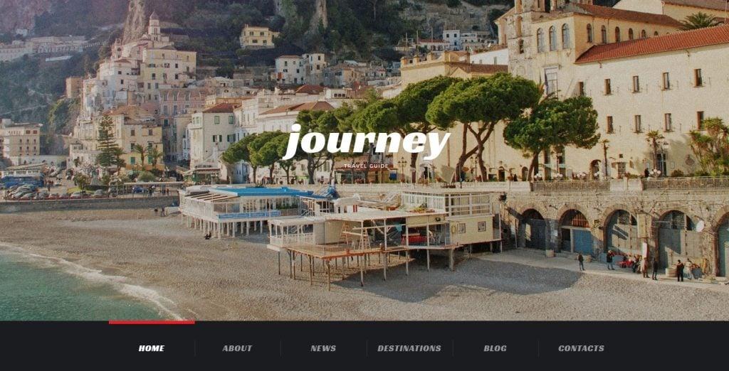 Responsive Travel WordPress Theme