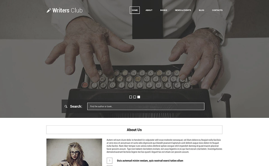 Writing Spot WordPress Theme(Wilde-style Edition)