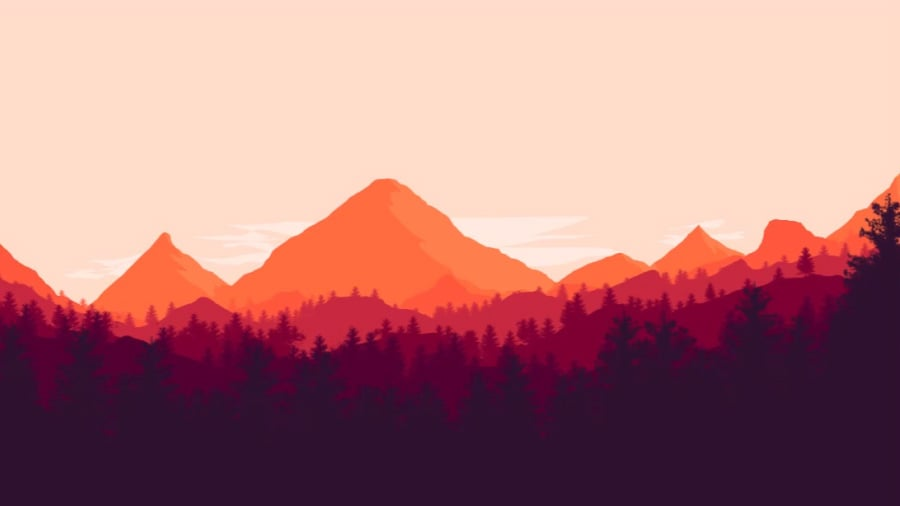 how to draw flat landscape in photoshop
