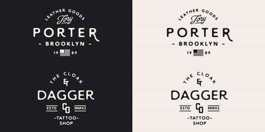 50 Free Vintage Fonts to Forget About Lobster Forever