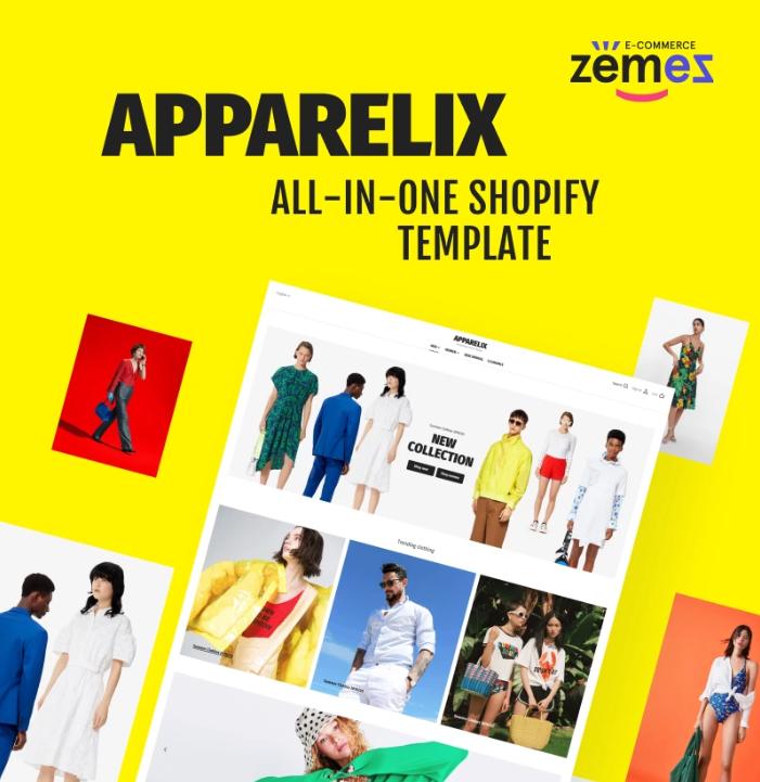Apparelix - Clean Multipurpose Shopify Theme