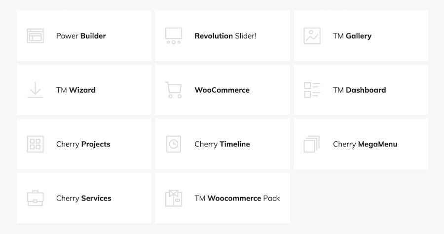 multipurpose WordPress template
