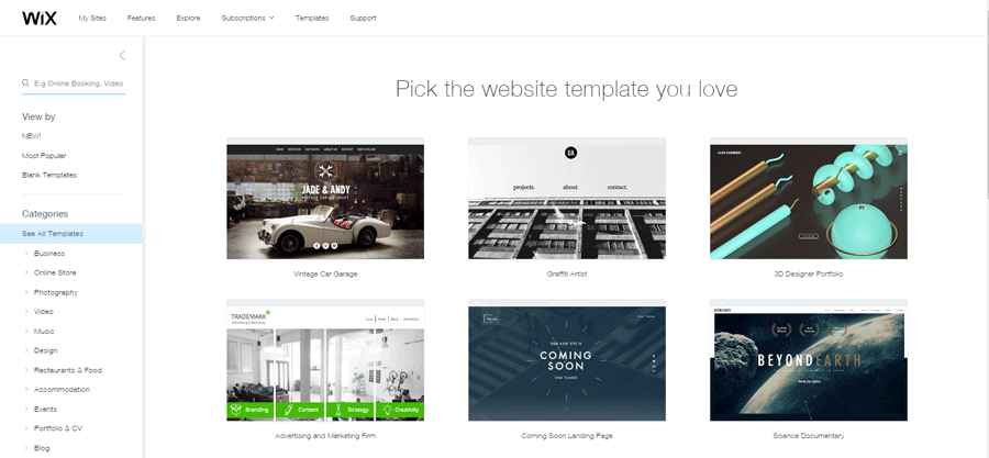 Wix   What's Your Best Visual Builder? The Unknown Side of