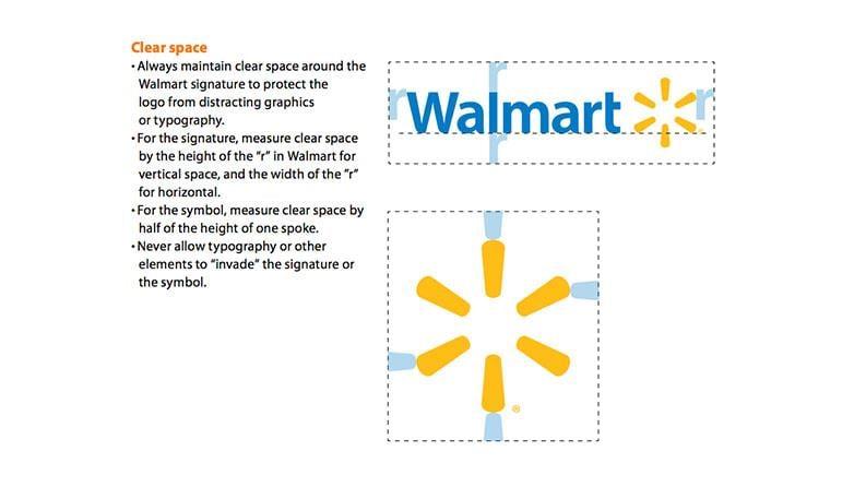 Walmart style guide