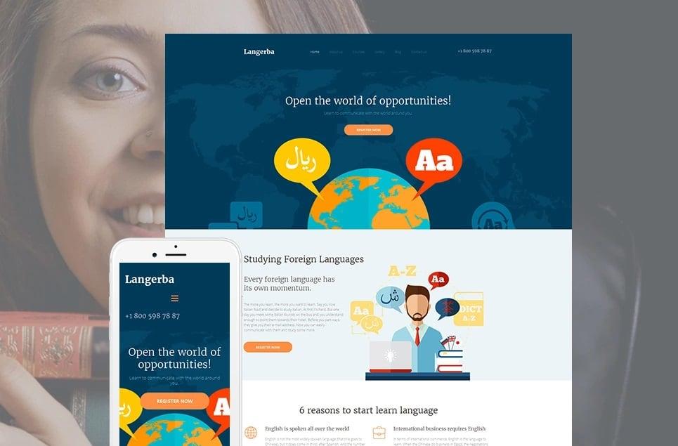 Educational websites - langebra
