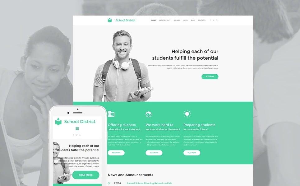 Educational websites - school district